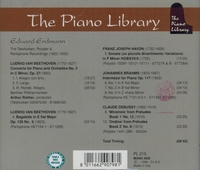 Eduard Erdmann   (The Piano Library 215)