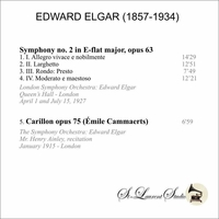 Edward Elgar, Vol. II     (St Laurent Studio YSL 78-073)
