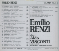 Emilio Renzi   (Aldo Visconti)      (Clama ML-50)