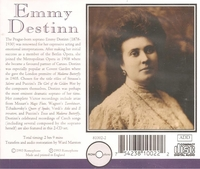 Emmy Destinn  - Victor Recordings           (2-Romophone 81002)