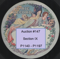English Vocal 78rpm records Nos. P1140 - P1197