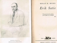 Eric Satie    (Rollo H. Myers)