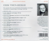 Erik Then-Bergh  - Electrola and Deutsche Grammophon     (2-Appian APR 6021)