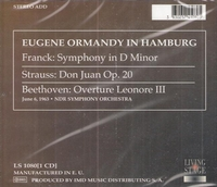 Eugene Ormandy   (Living Stage 1080)
