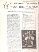 Four Below Strikes Back   (Offbeat O-4017)   Original New York cast LP
