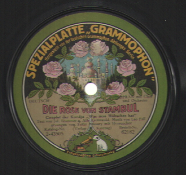 French Vocal 78rpm Records