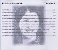 Frida Leider, Vol. IV            (Truesound Transfers 3011)