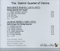 Galimir String Quartet      (St Laurent Studio YSL 78-192)