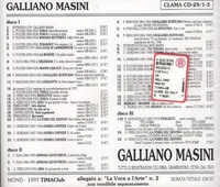 Galliano Masini       (3-Clama TimaClub 29)