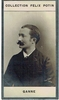 Ganne, Louis. 1 ALS, 4.75x6.5 / 1 unsigned sepia photo card, Collection F�lix Potin 1.75x3.