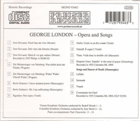 George London           (Preiser 93463)