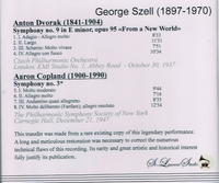 George Szell, Vol. I      (St Laurent Studio YSL 78-135)