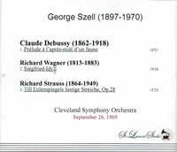George Szell, Vol. V              (St Laurent Studio YSL T-413)