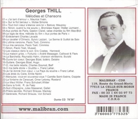 Georges Thill     (Malibran 532)