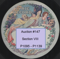 German Vocal 78rpm records Nos. P1095-P1139