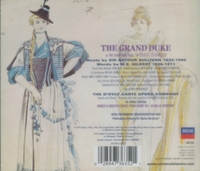 The Grand Duke  (Gilbert & Sullivan)  (D'Oyly Carte;  Nash; Reed, Sandford, Tannhauser, Ayldon, Lilley)  (2-Decca 473 635)