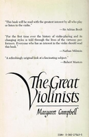 Great Violinists    (Margaret Campbell)   0-385-17565-5
