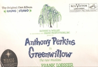 Greenwillow   (Perkins)   (RCA LSO-2001)   Original Broadway cast LP