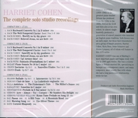 Harriet Cohen      (3-Appian APR 7304)