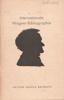 International Wagner-Bibliographie     (Barth, Ed.)