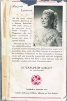 Interrupted Melody      (Marjorie Lawrence)