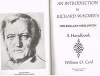 Introduction - Wagner's RING  (William O. Cord)   0-8214-0648-5