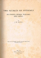 The Secrets of Svengali   (J.  H.  Duval)