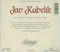 Jan Kubelik       (2-Biddulph LAB 033/34)