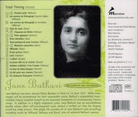 Jane Bathori;  Darius Milhaud   &  Tailleferre   (Marston 51009)