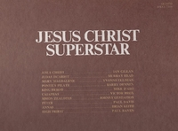 Jesus Christ Superstar    (2-Decca DXSA7206)     Original cast LPs
