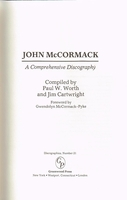 John McCormack    (Worth and Cartwright)    (0-313-24728-5)