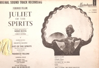 Juliette des Esprits       (CAM 500)      Fellini Soundtrack LP