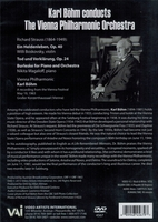 Karl  Bohm - Richard Strauss Program  (VAI DVD 4567)
