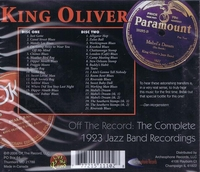 King Oliver    (2-Archeophone OTR-MM6-C2)