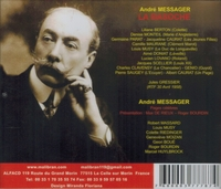 La Basoche  (Messager)  (Gressier;  Berton, Monteil, Maurane, Musy, Lovano)  (2-Malibran 787)