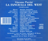 La Fanciulla del West - Excerpts  (Bellezza;  Olivero, Lauri-Volpi, Guelfi)   (GAO 180)