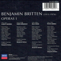 Albert Herring, Owen Wingrave, Billy Budd & Peter Grimes (Britten) (8-Decca 475 6020)