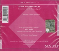 Lauritz Melchior;  Reiner   (Peter and the Wolf)     (Myto 061.H109)