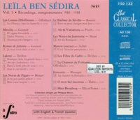 Leila ben Sedira        (The Classical Collector 150 132)