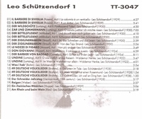 Leo Schutzendorf, Vol. I           (Truesound Transfers 3047)