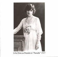 Lily  Elsie    (The Blue Train;  Pamela)    (Palaeophonics 101)