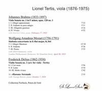 Lionel Tertis;  Harriet Cohen;  George Reeves   (Yves St Laurent YSL 78-529)