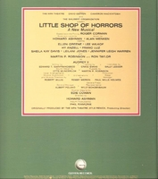Little Shop of Horrors  (Geffen GHSP 2020)   Off-Off-Broadway cast LP