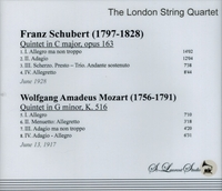 London String Quartet, Vol. V  (St Laurent Studio YSL 78-207)