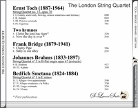 London String Quartet, Vol. VII    (St Laurent Studio YSL 78-269)