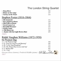 London String Quartet, Vol. VIII;    Gervase Elwes       (St Laurent Studio YSL 78-381)