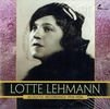 Lotte Lehmann:  The Complete Acoustic Recordings, 1914-26     (4-Marston 54006)