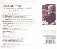 Louis Kentner  -  Pioneering Liszt Recordings, Vol. II   (Appian APR 5614)