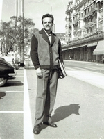 Maazel, Lorin  -  BW photo