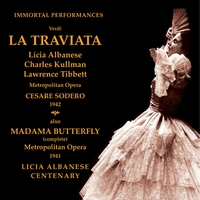 Madama Butterfly   /   La Traviata    (Licia Albanese)   (4-Immortal Performances IPCD 1037)